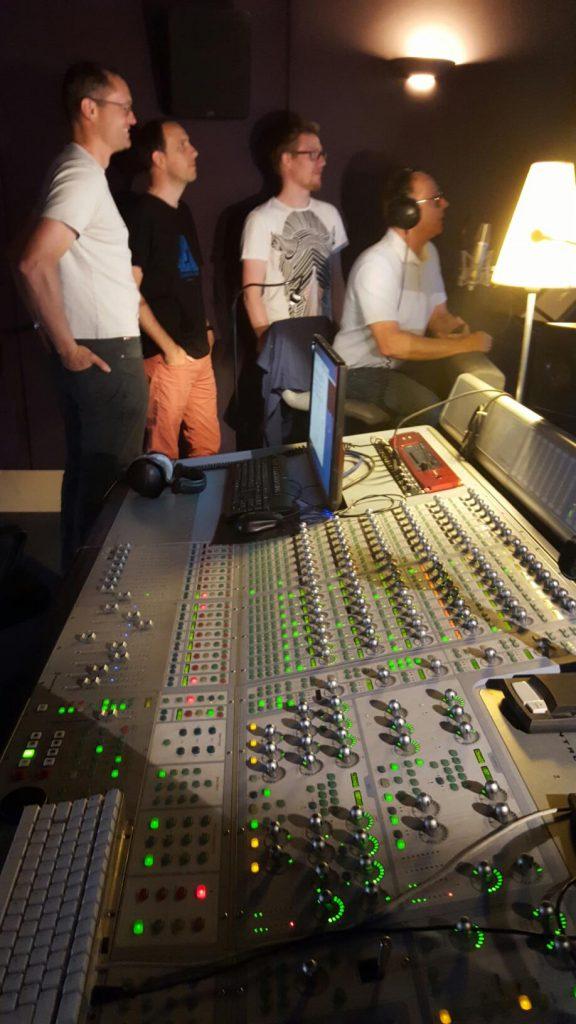 Mixage Framatome (Areva) : l'équipe presque au complet